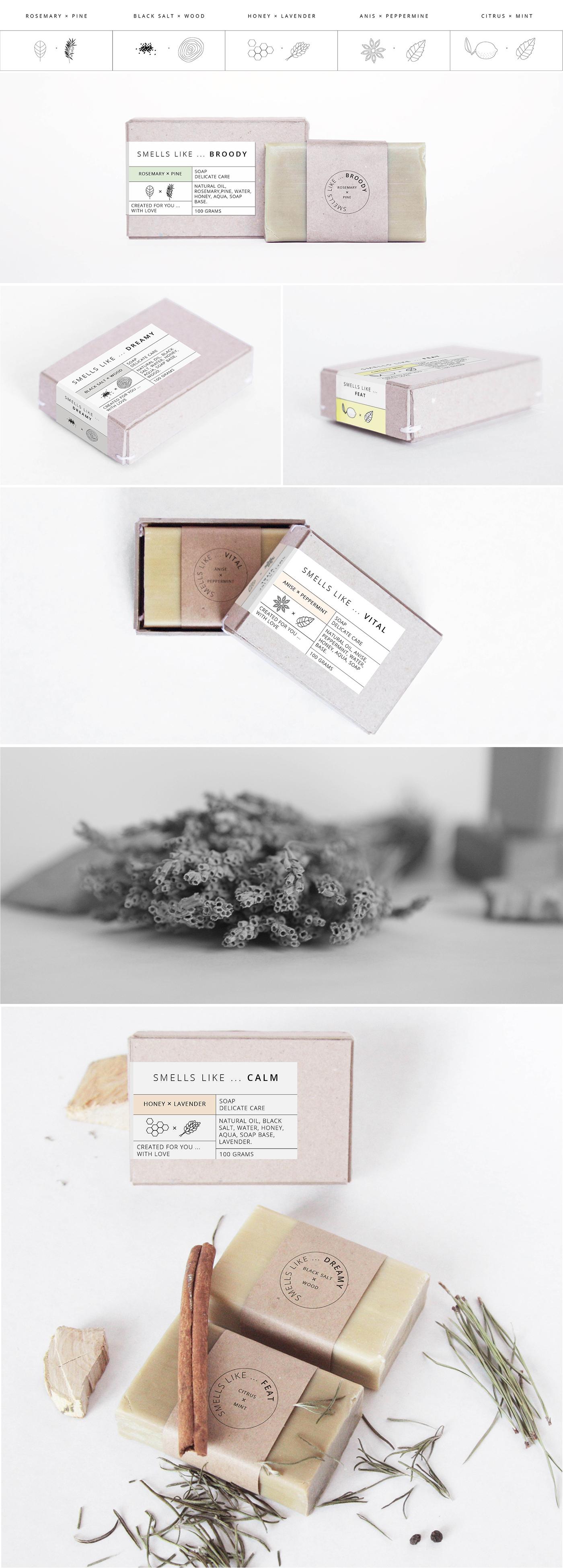 有設計感的32張肥皂包裝欣賞