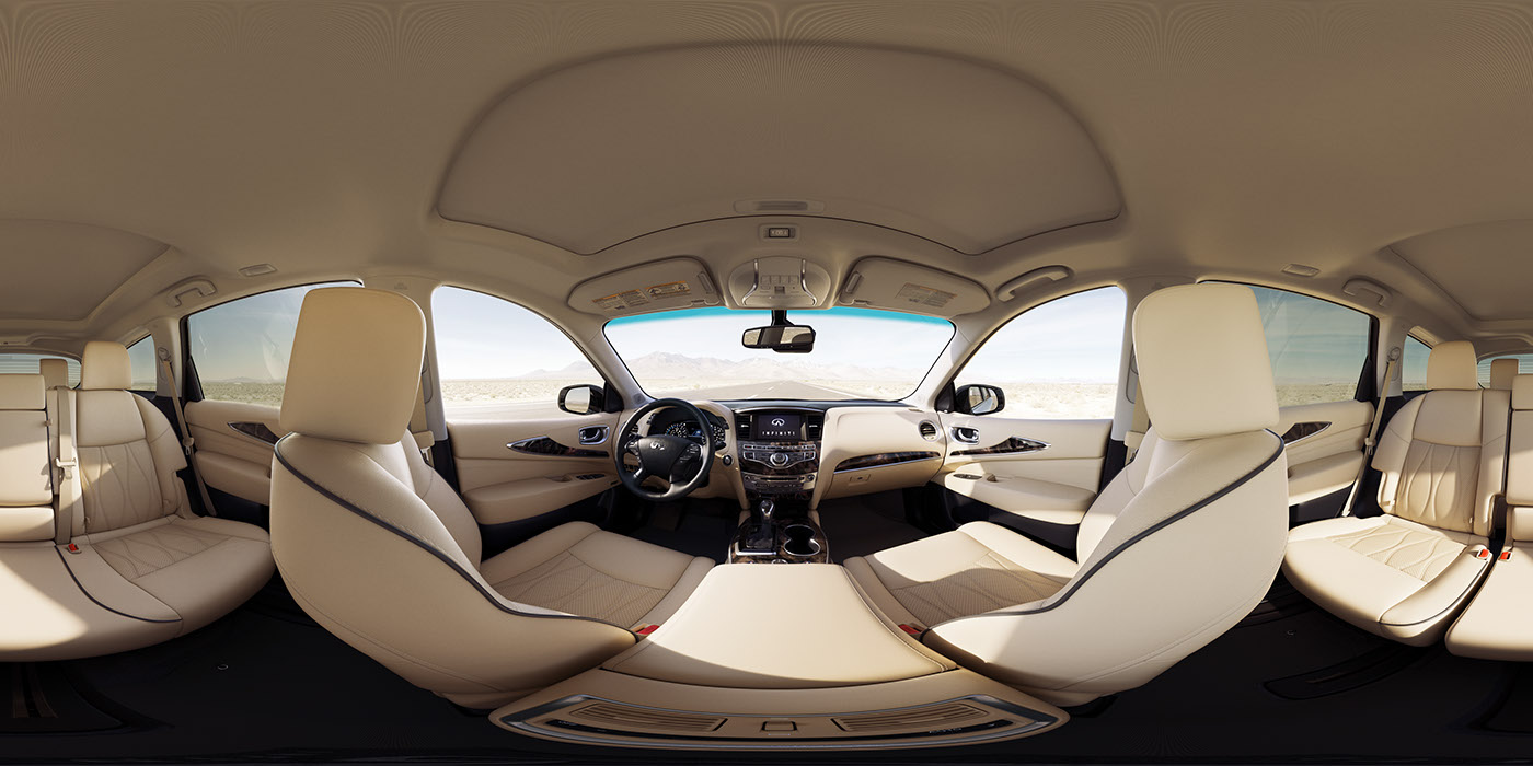 infiniti qx60 interior 360 on behance