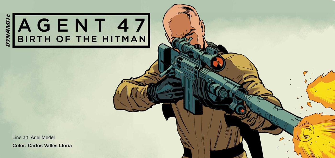 hitman color comic videogame Videojuego Graphic Novel