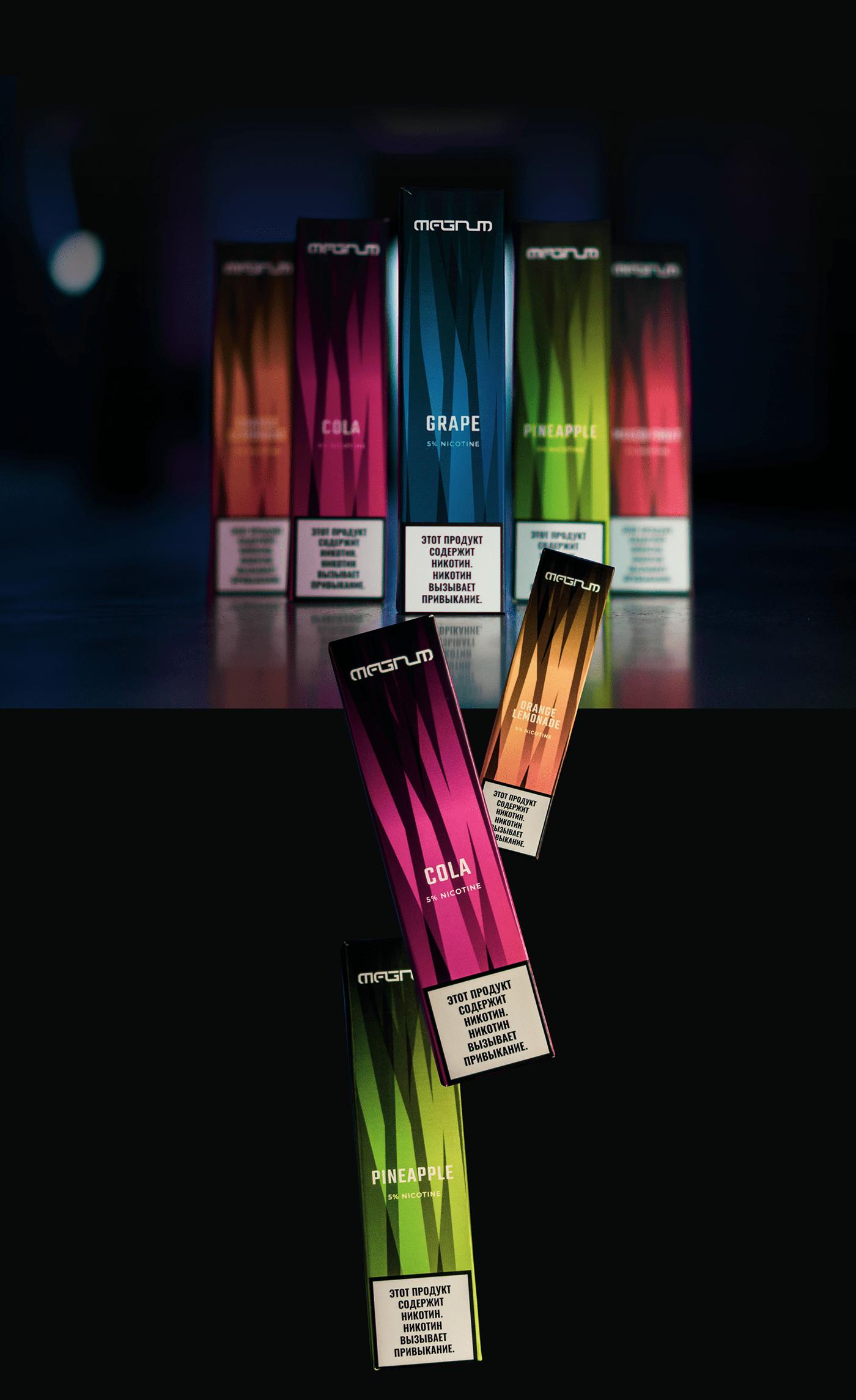branding  ecigs graphic design  package Vape vaping дизайн упаковки упаковка Электронные сигареты брендинг