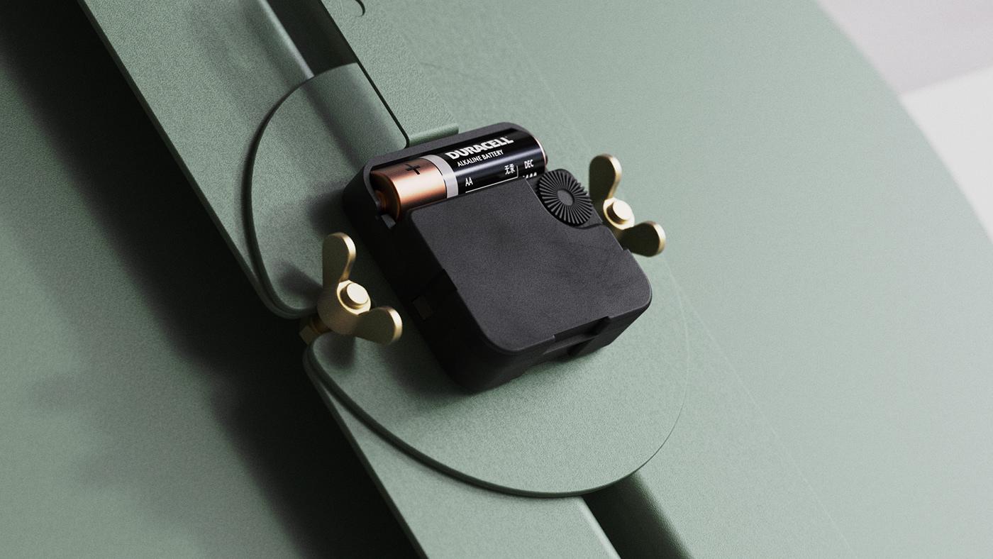clock cmf contemporary industrial design  interior design  product design  Sustainability