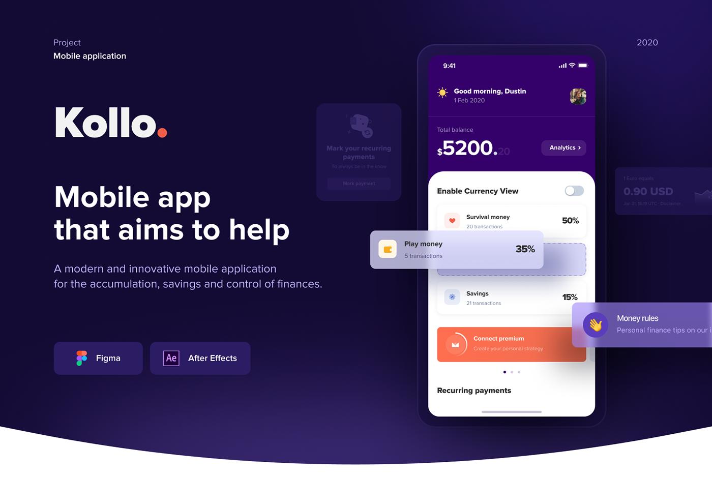 app Budget Budgeting credit finances financial Fintech iosapp mobileapp WALLET
