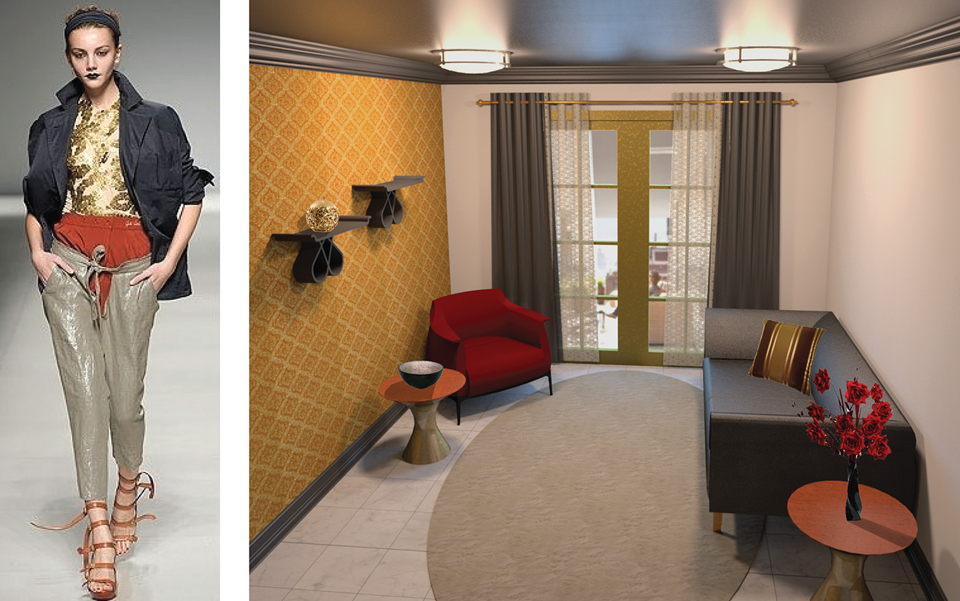 高質感的34張客廳牆壁顏色欣賞