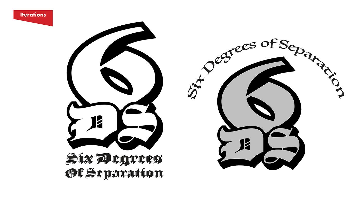 Six Degrees Of Separation Logo On Behance