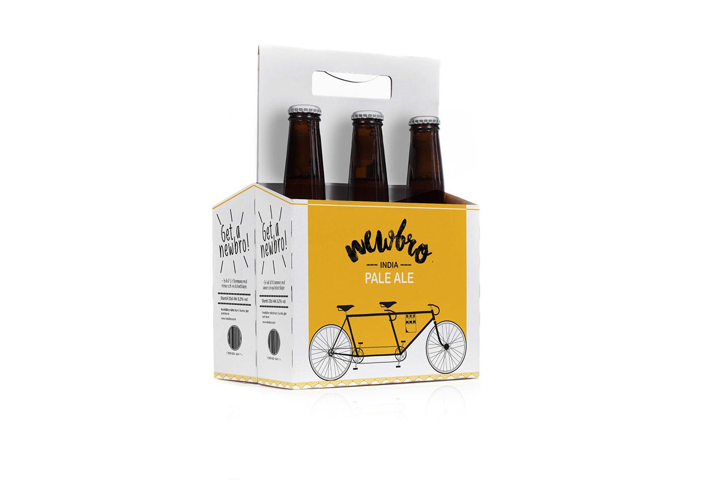 marketing   branding  brewery packeting graphic design  Bicycle beer