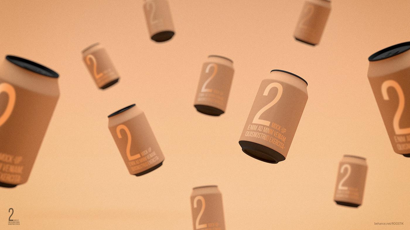 free Mockup mock-up design bottle comercial identity corporate