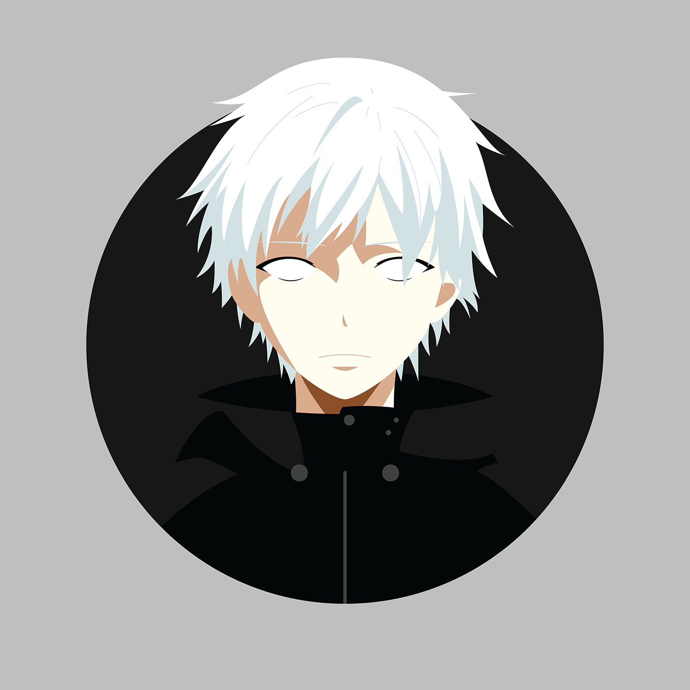 anime character vector portraits on behance rh behance net anime factory creator anime vector art