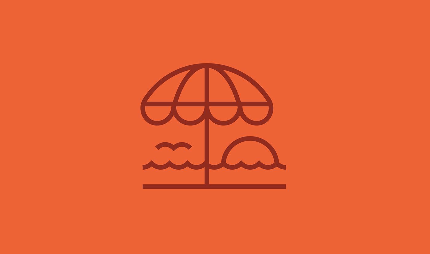 line icon Icon pictogram line Spot summer winter spring autumn