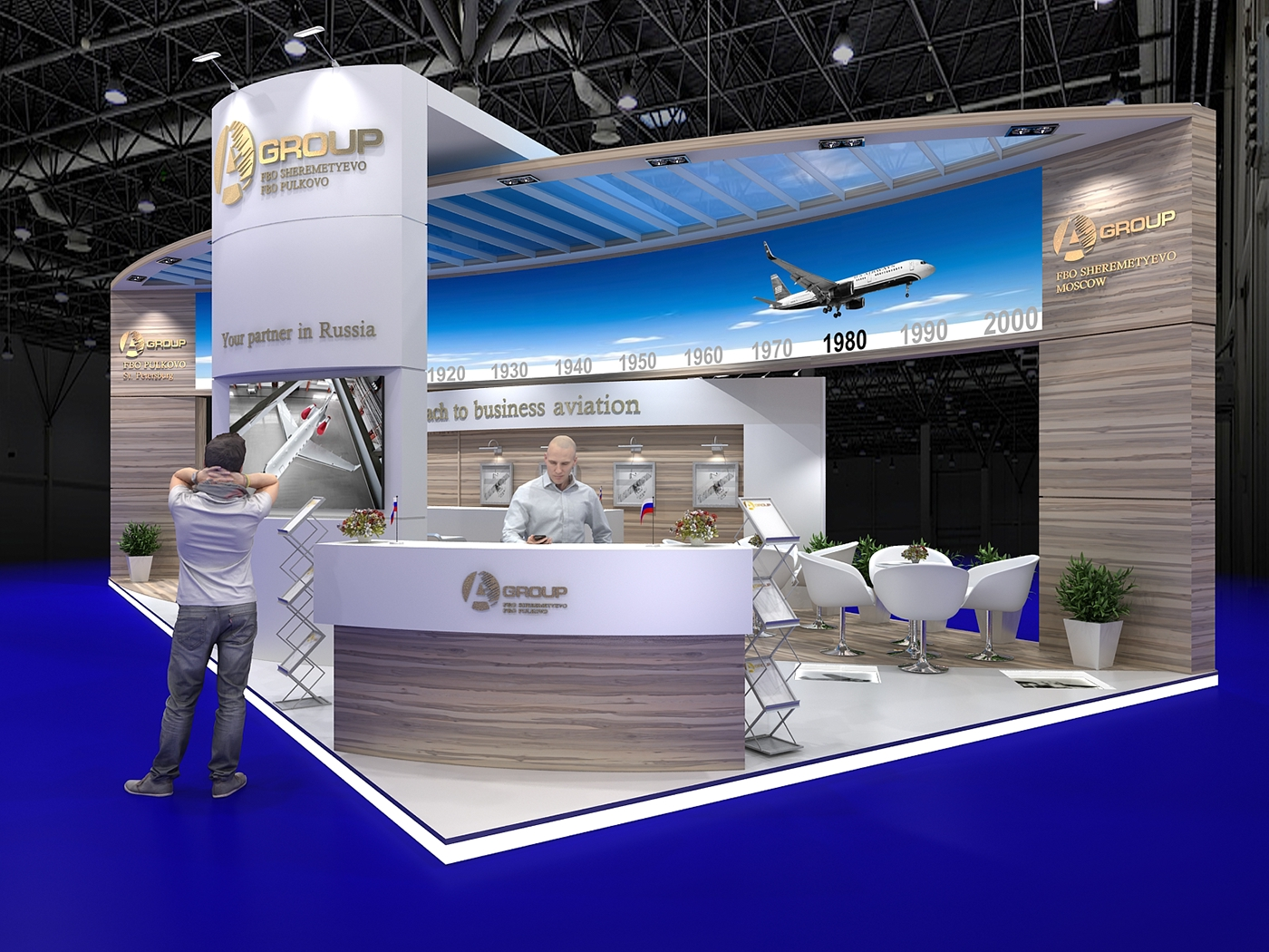 Expo Exhibition Stands Group : A group ebace on behance