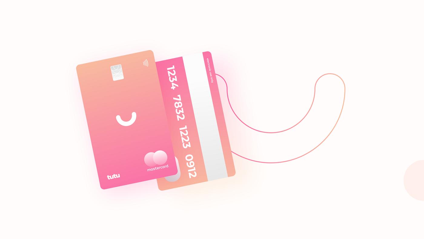 creditcard card web site Webdesign gradient ui UI ui design Logo Design landing page