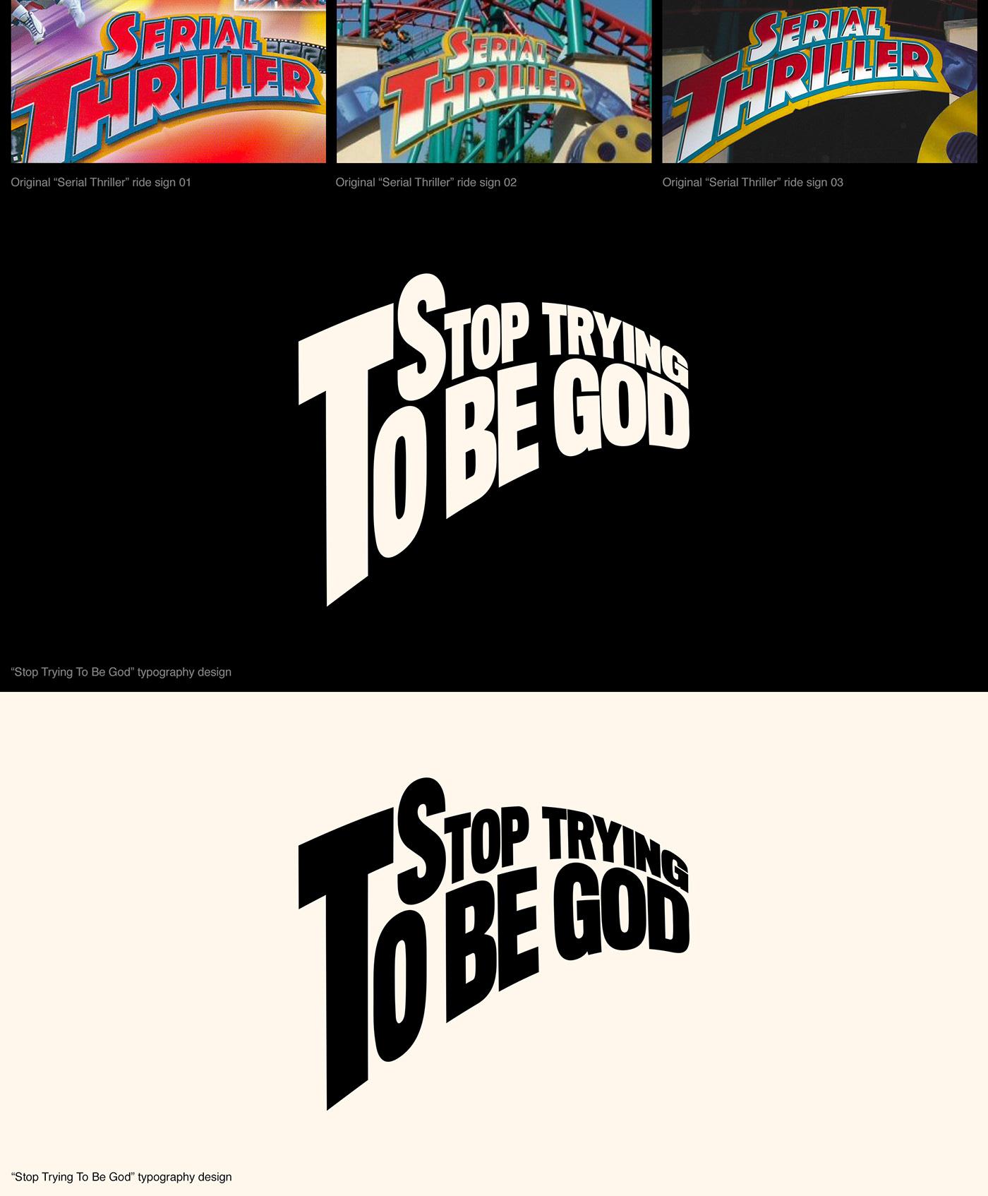 spotify TRAVIS SCOTT astroworld music hip hop rap graphic design  typography   branding  roller coaster