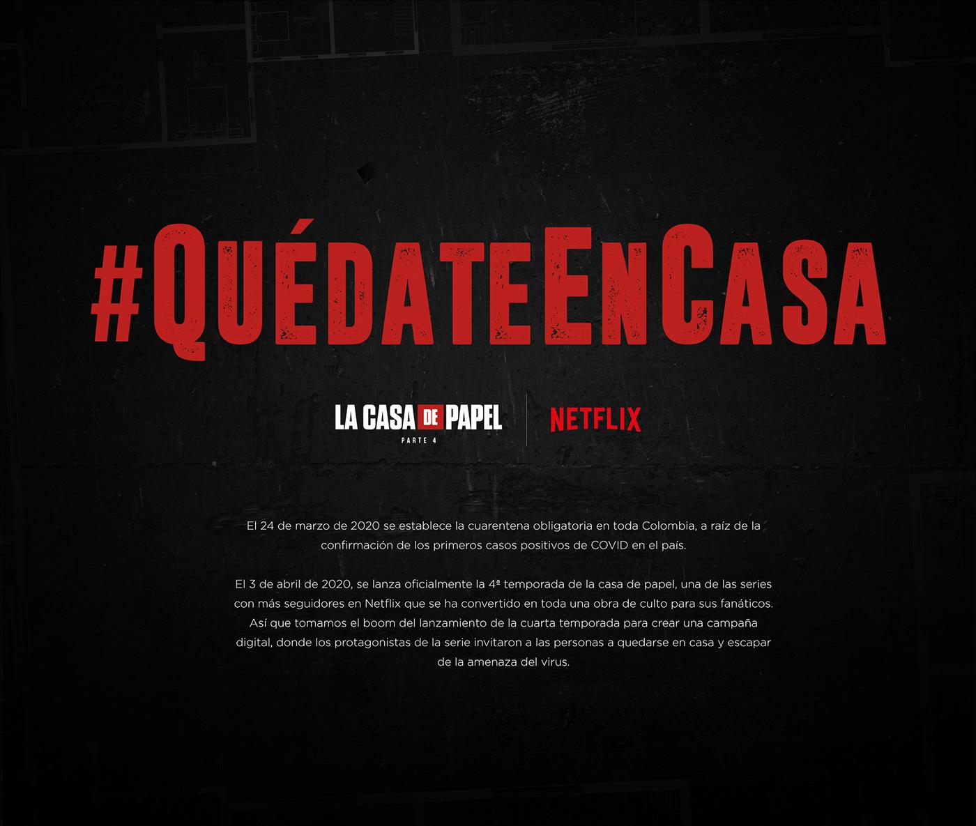 casadepapel digital elprofesor Netflix proteccion wundermanthompson