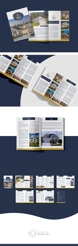 CASAS diagramação digital ebook florida imobiliária Livro revista Tampa Bay