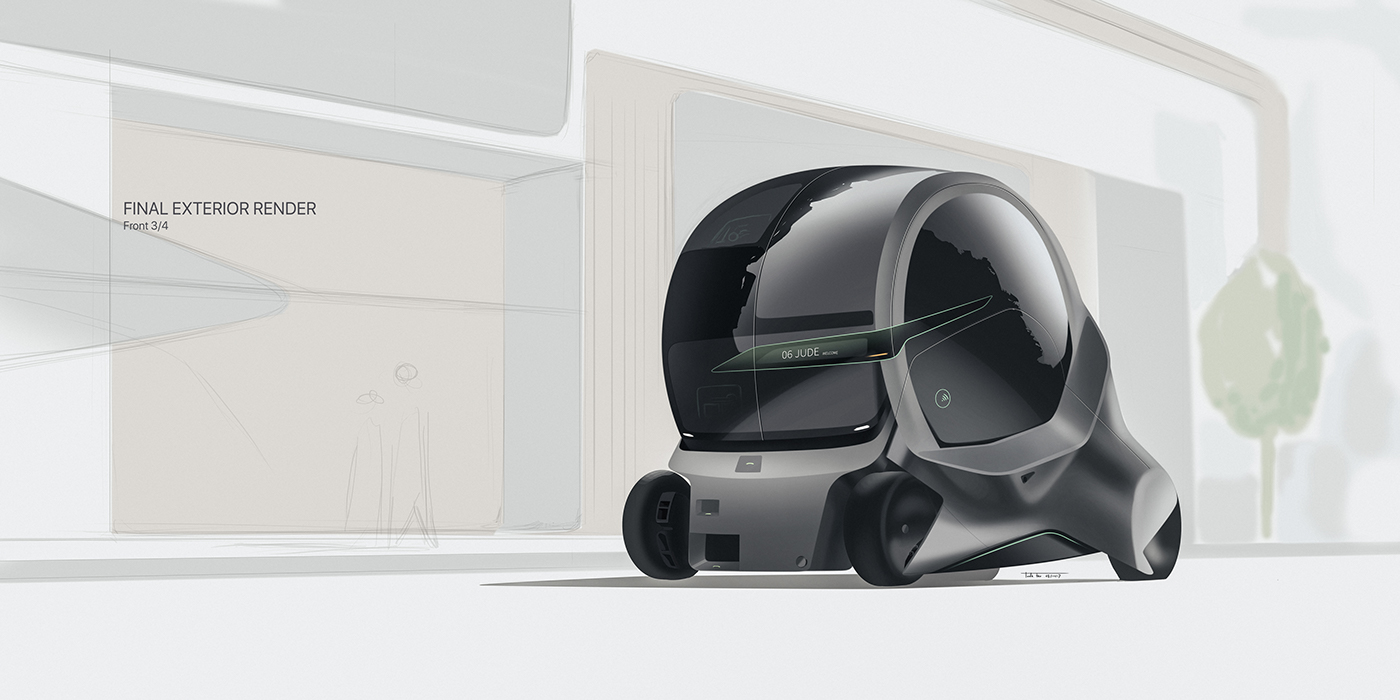 2050 Mobility Solution on Behance