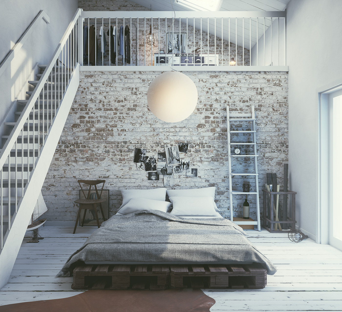 Scandinavian interior unreal engine 4 animation on behance for Unreal engine 4 architecture