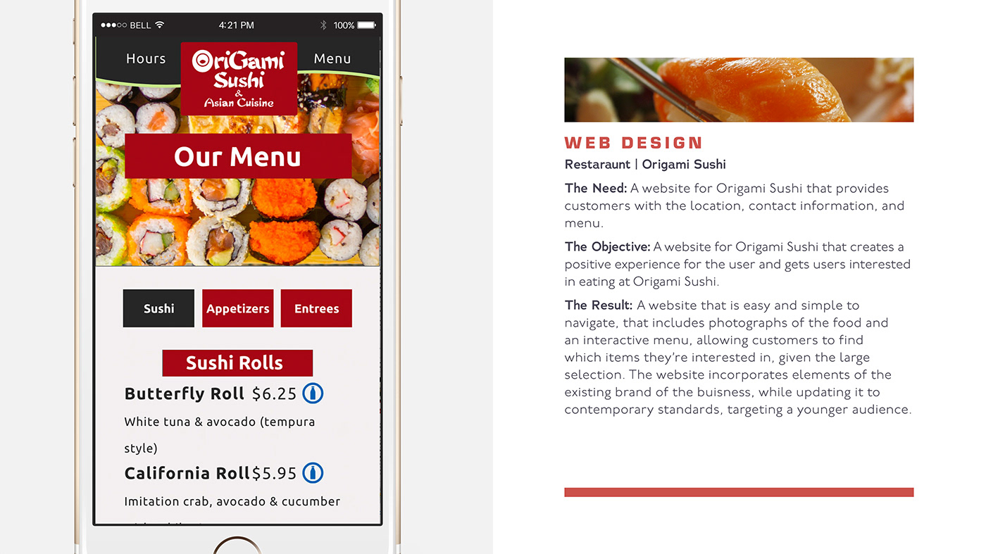 Sushi Website on Behance   787x1400