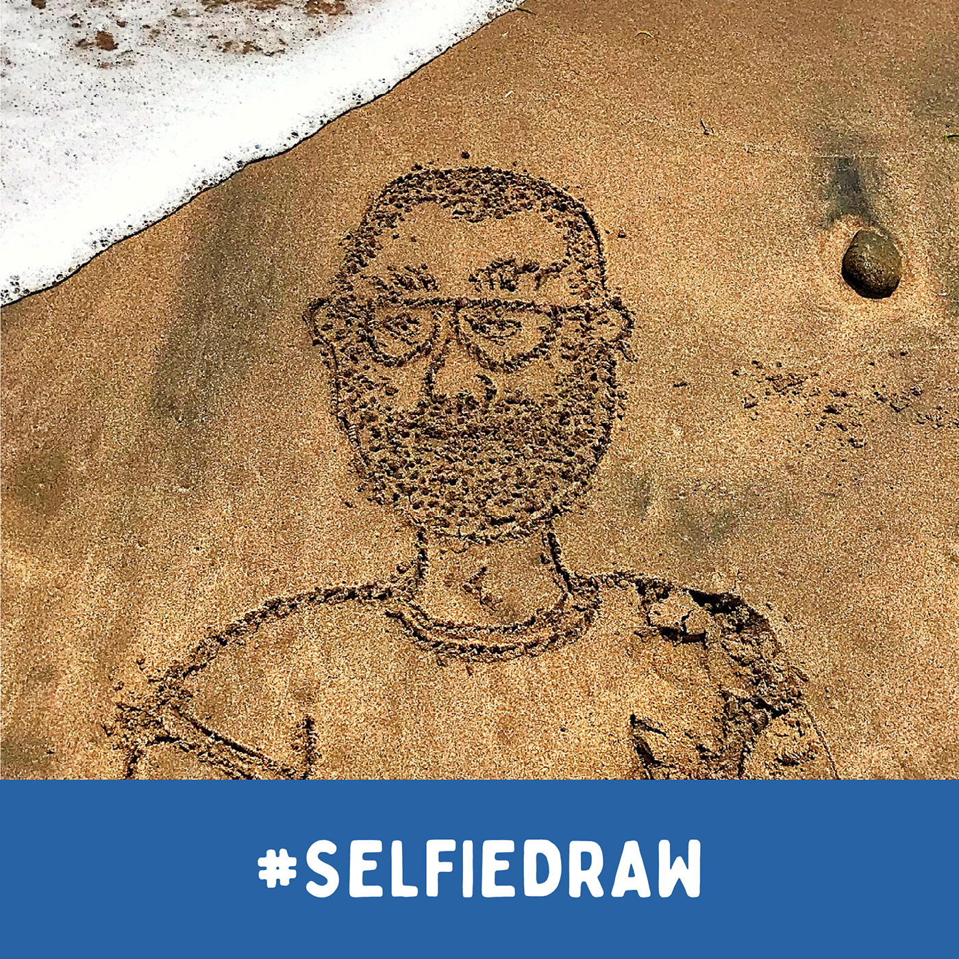Self Portrait Hand Drawing // Different Actions by Tomatito / Tomás Sastre (markers / rotuladores)