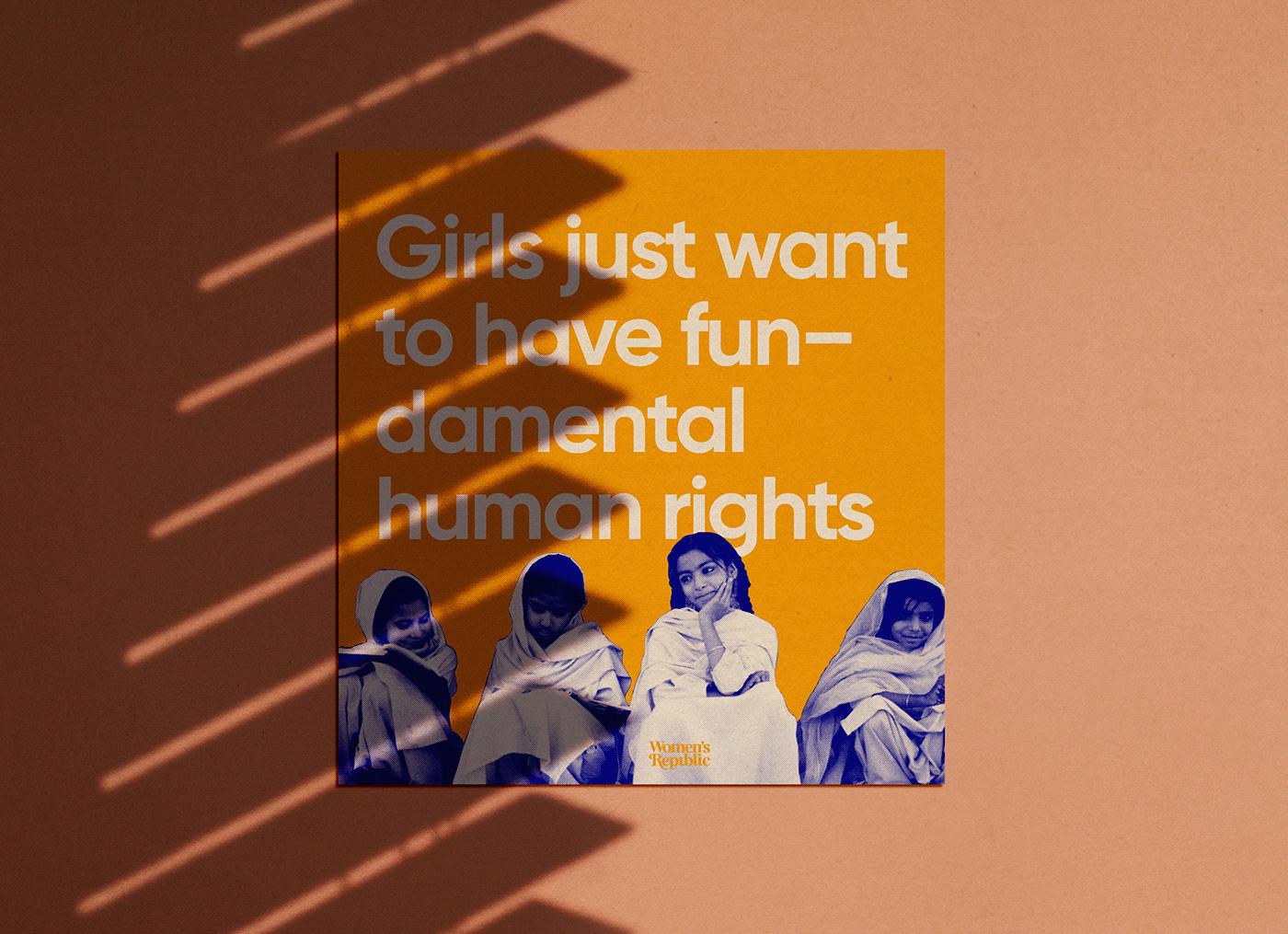 activism Brand Design feminism Logo Design non-profit women's logo wordmark Wordmark Design feminist Wordmark Logo