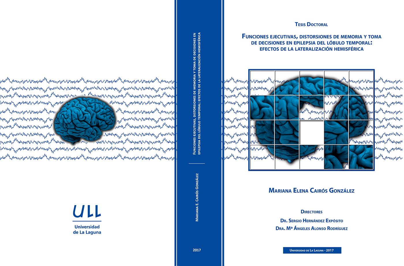 cover graphic design  thesis tenerife canarias