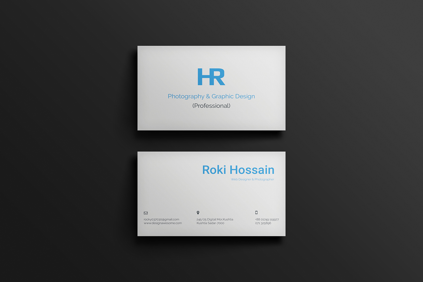 Personal Business Card For Free