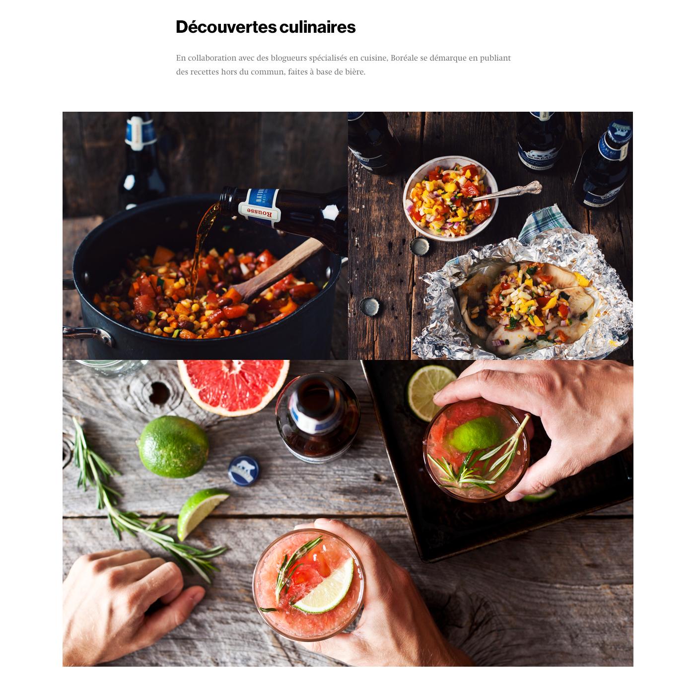 contenu,site web,beer,Website,lifestyle,Quebec,Montreal,ux,Food ,Rebrand,recipe,brew,brewing,alcool