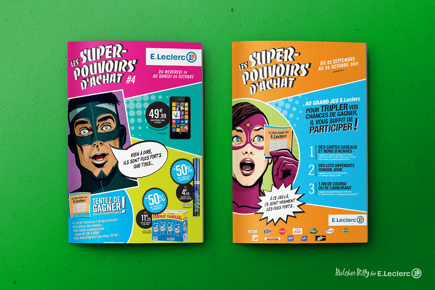Les Superpouvoirs Dachat Butcher Billy For Eleclerc On