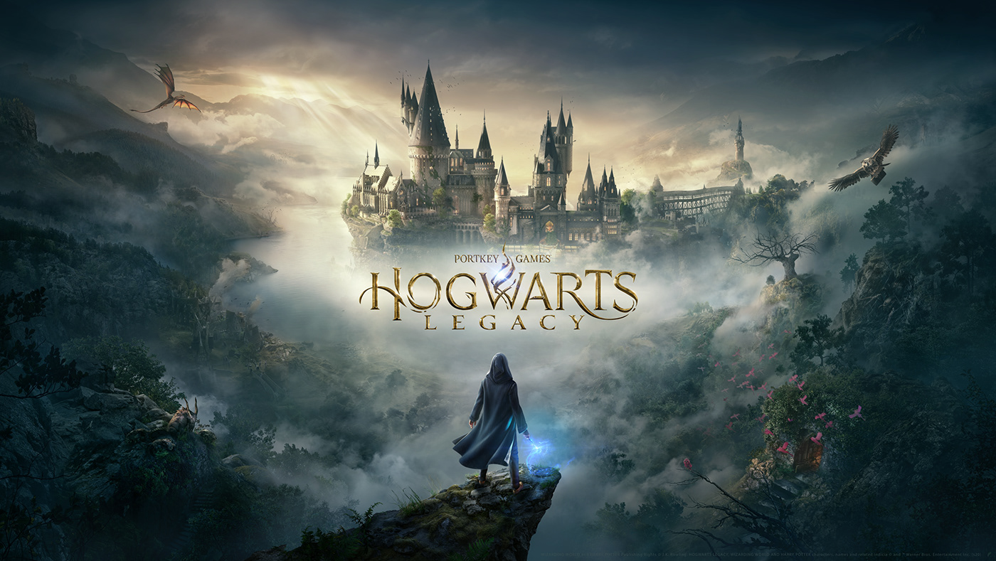 Castle creatures harry potter Hogwarts Magic   Matte Painting Two Dots video game wizard Wizarding World
