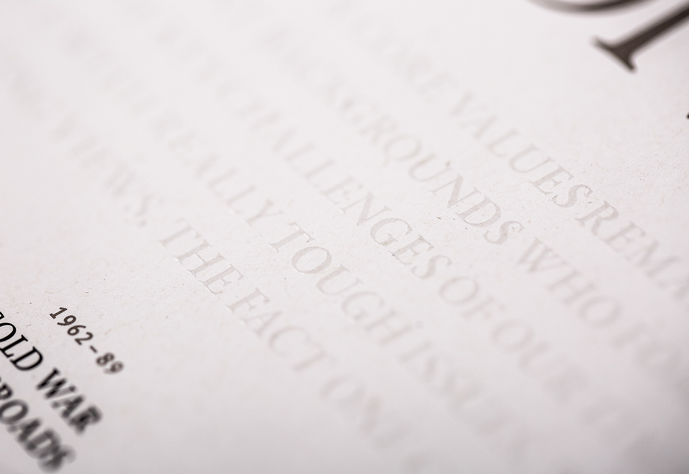 News Paper annual report metallic Varnish anniversary bronze corporate publishing