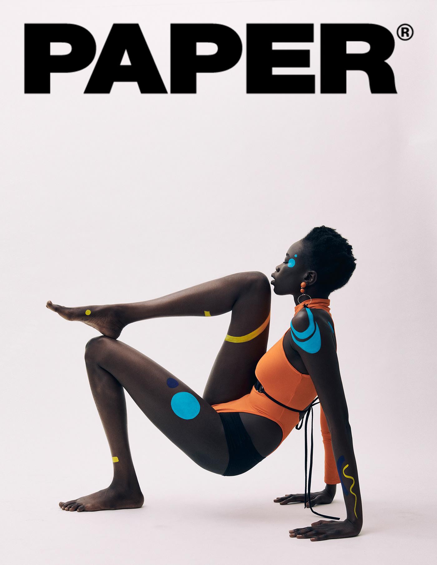Fashion editorial for PAPER Magazine