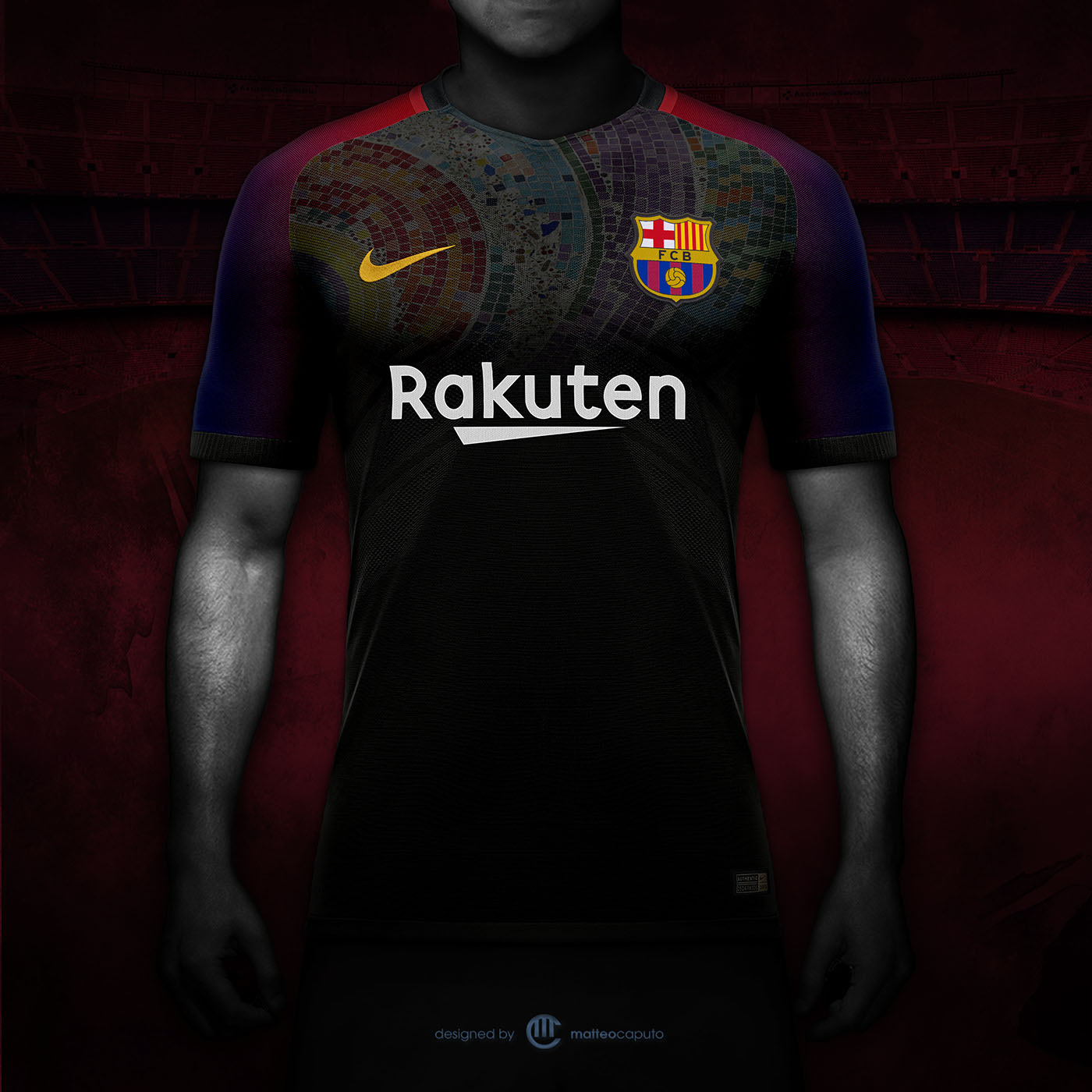 Inspired by some iconic element of Barcelona and the Club history. 8d99d1be7b368