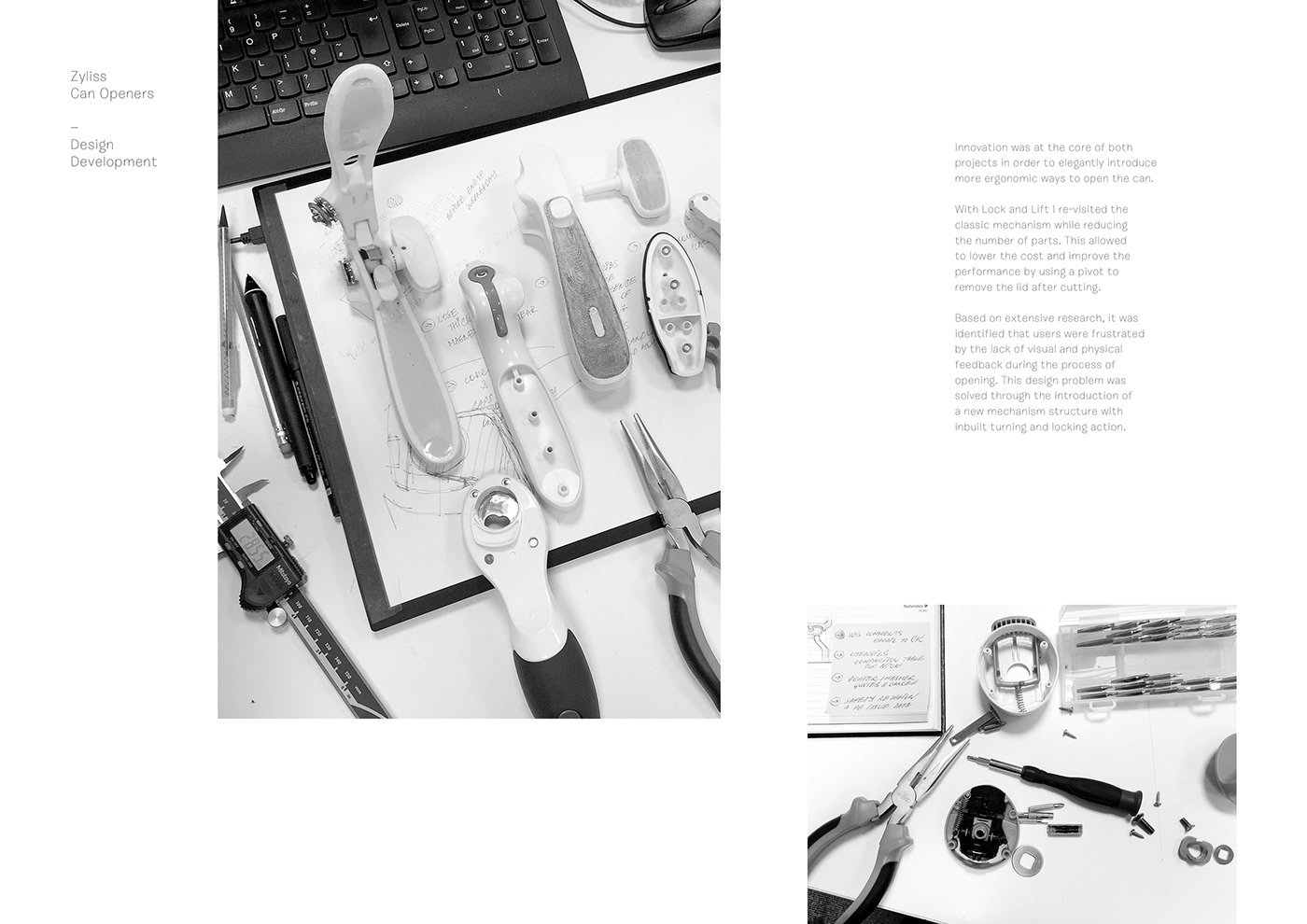 Zyliss can opener industrial design  romanovadesign sketches