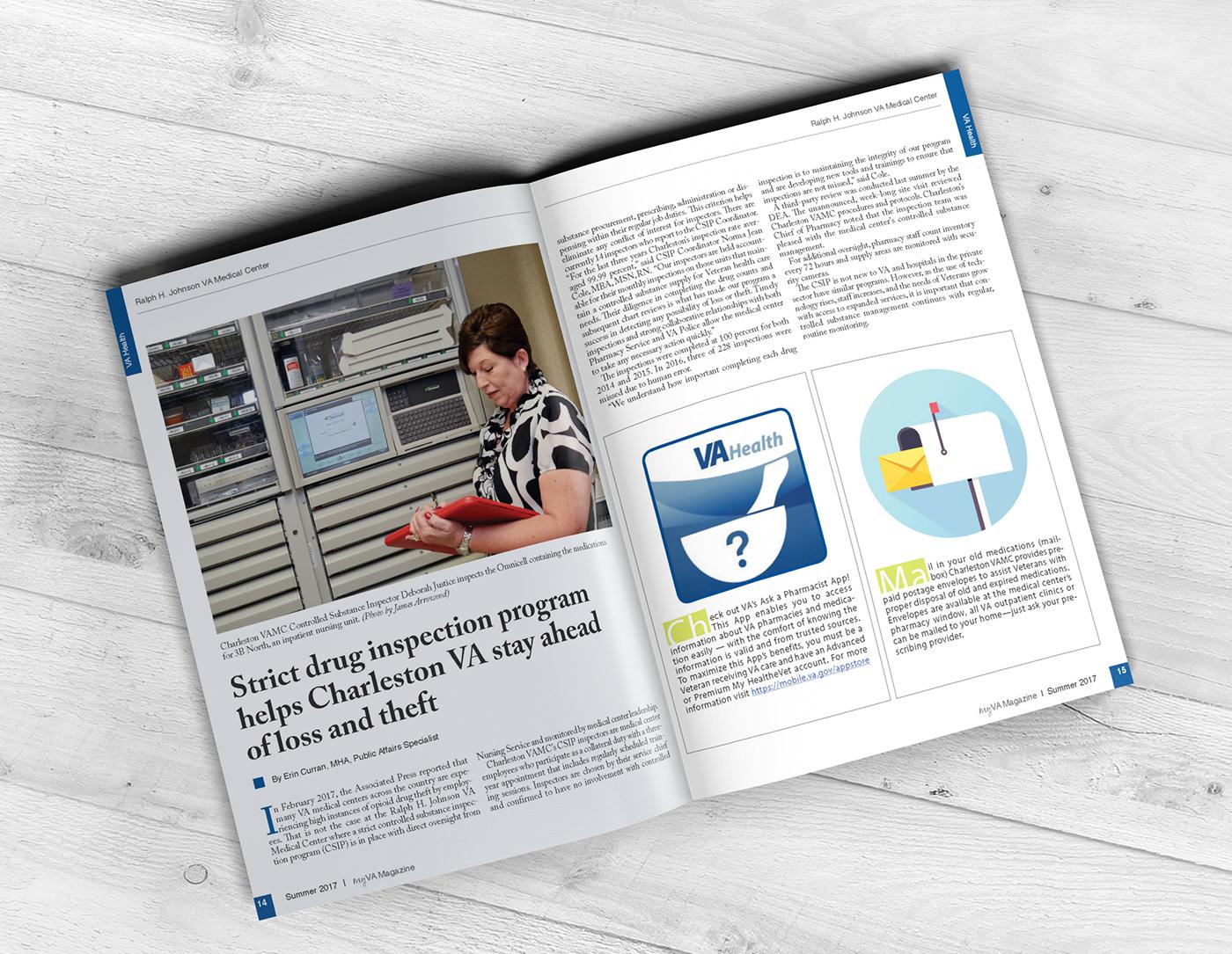 MyVA Health Care Magazine on Behance