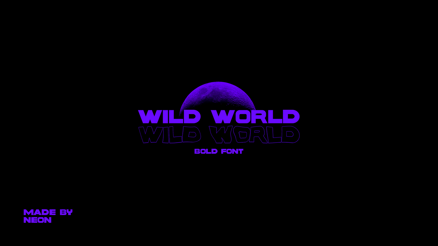 font fonts free wild world