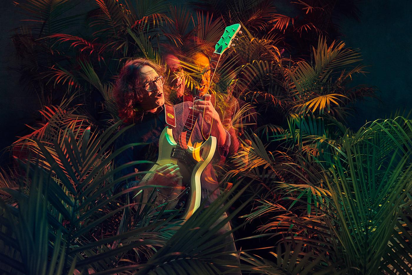 music cover Album afrocolombian rythms guitar Santana Tropical Music music project album cover