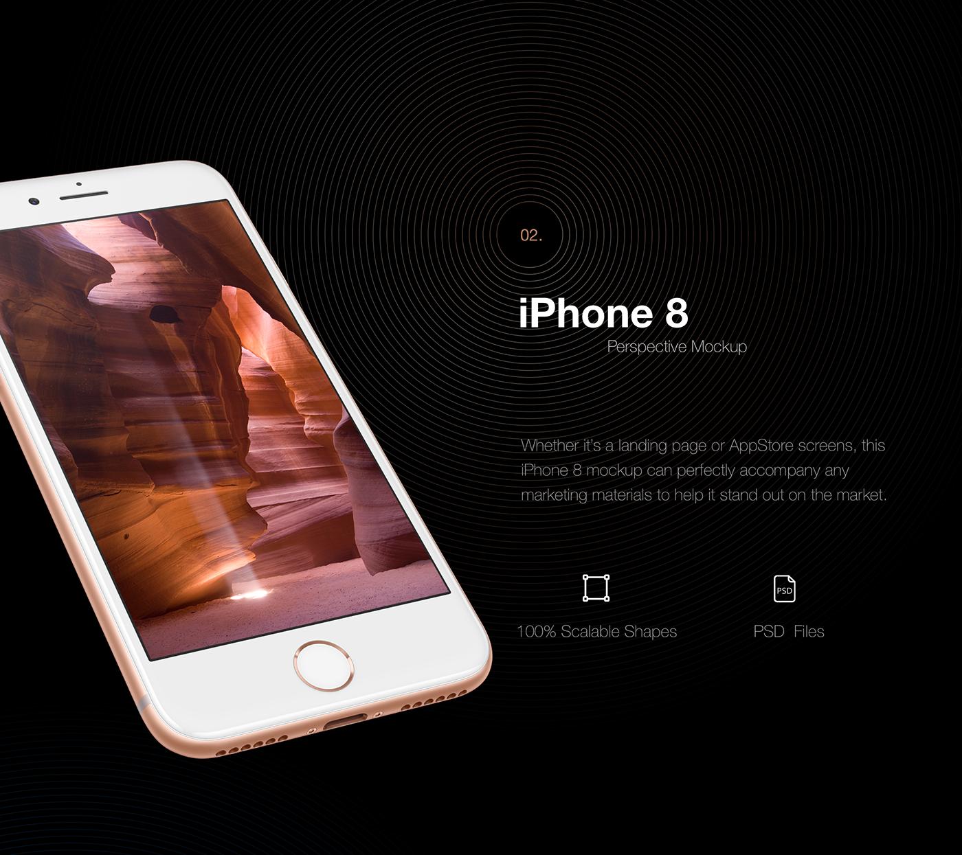 Iphone Mockups Psd Sketch On Behance