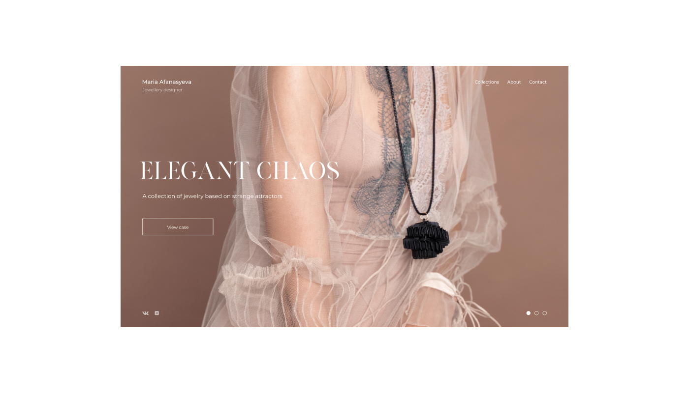Web Web Design  minimal minimalistic UI ux jewelry designer clean beauty