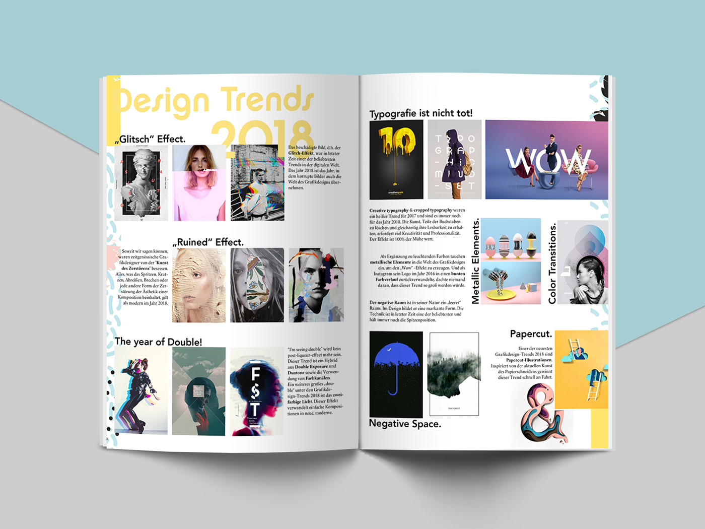 Fictitious Work - Editorial Design on Behance