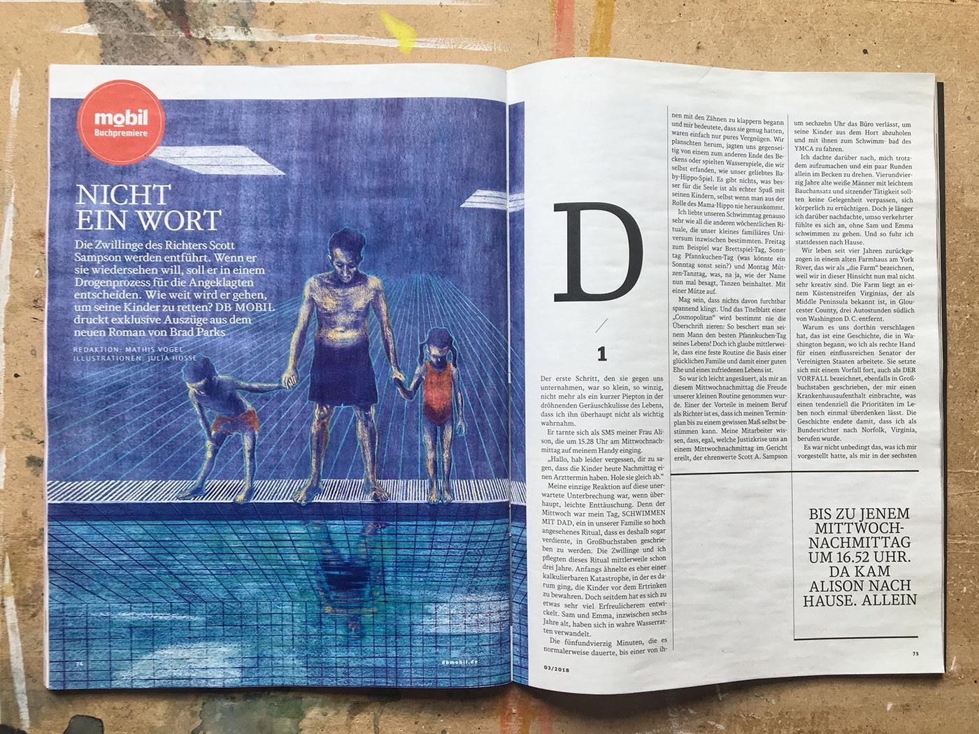 DB Mobil Magazin   Nicht ein Wort on Behance