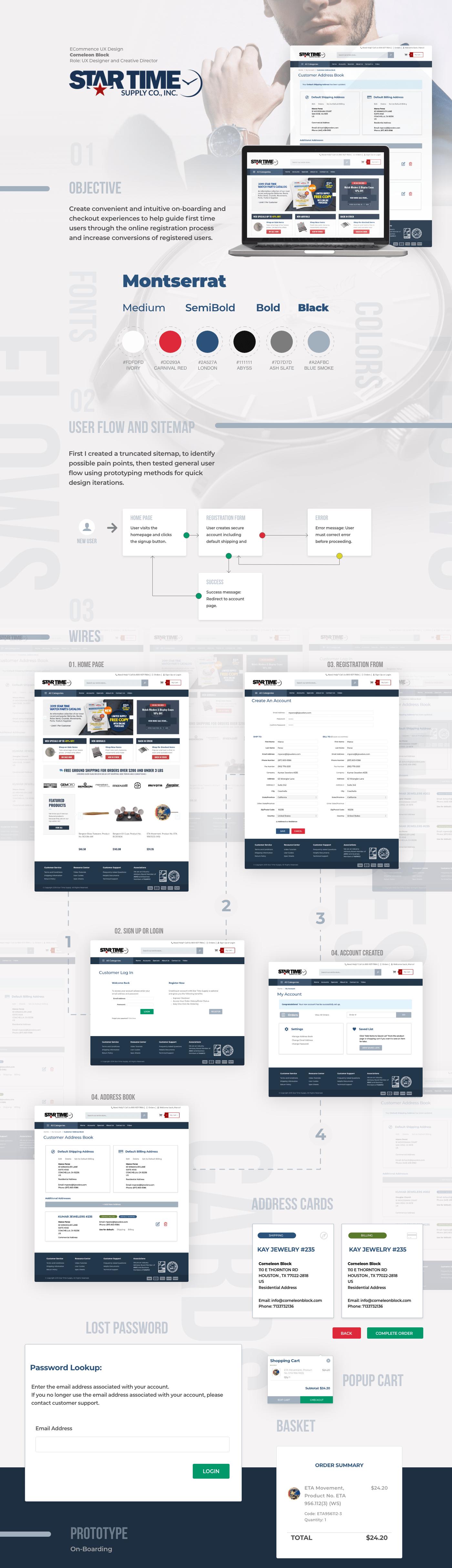 desktop Ecommerce ux
