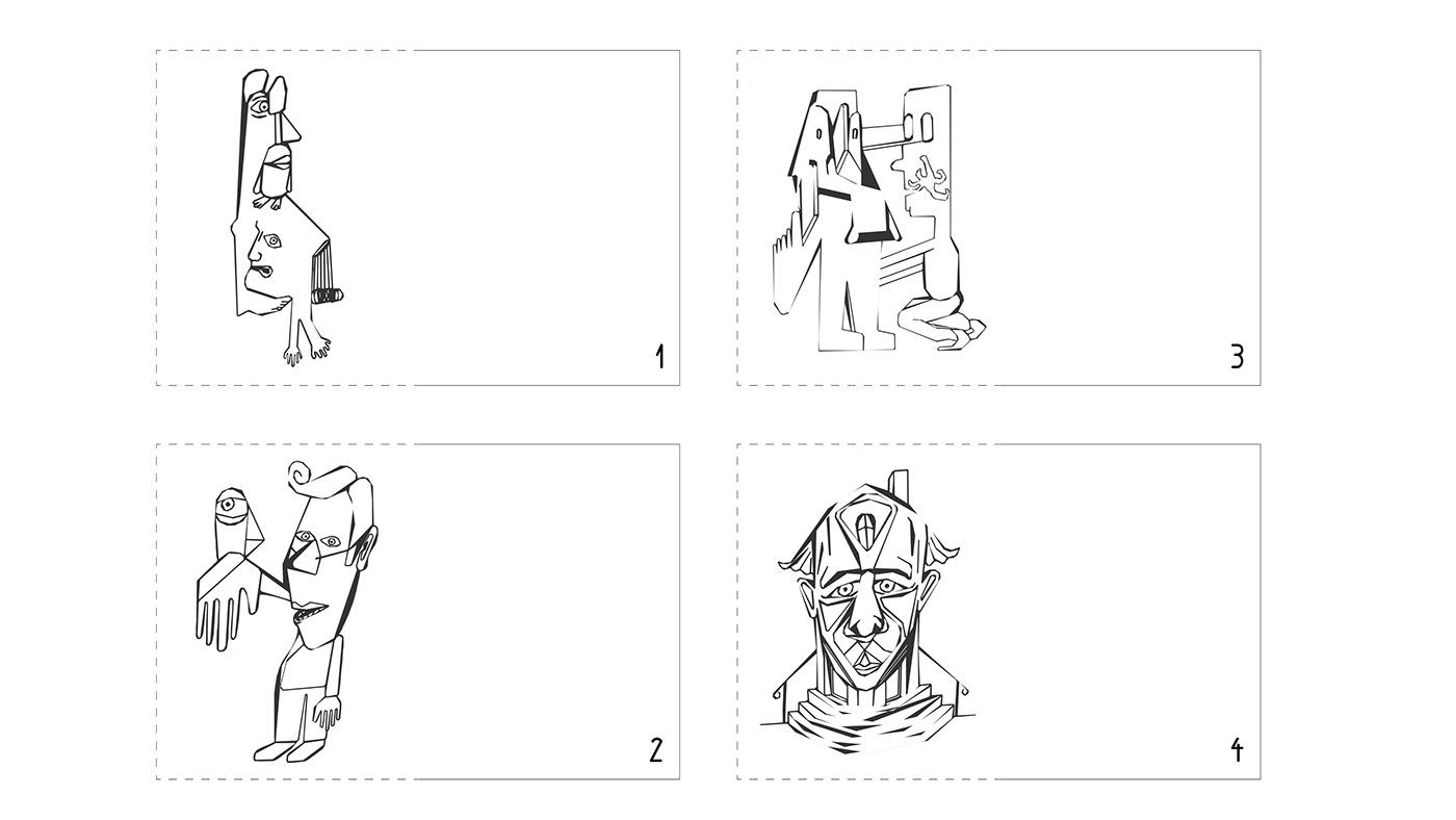 magazine Europe identity ILLUSTRATION  animation  Photography  phenomenology constructivism simonhorn korridorsicht
