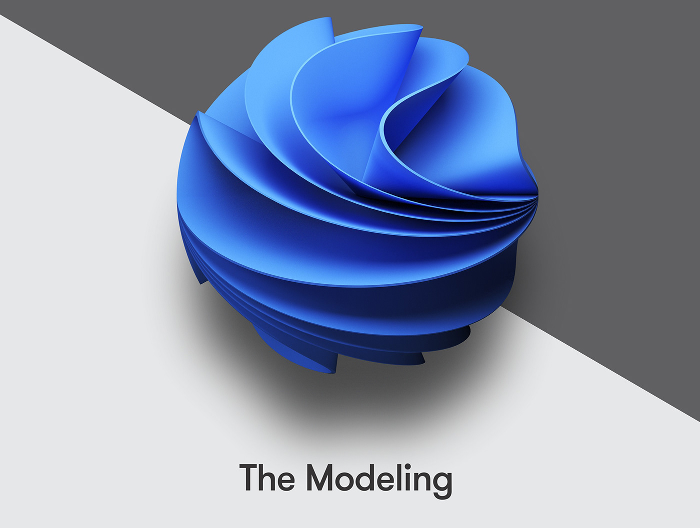 3D ai azure deepshape deepyellow design geometry ILLUSTRATION  Microsoft motion
