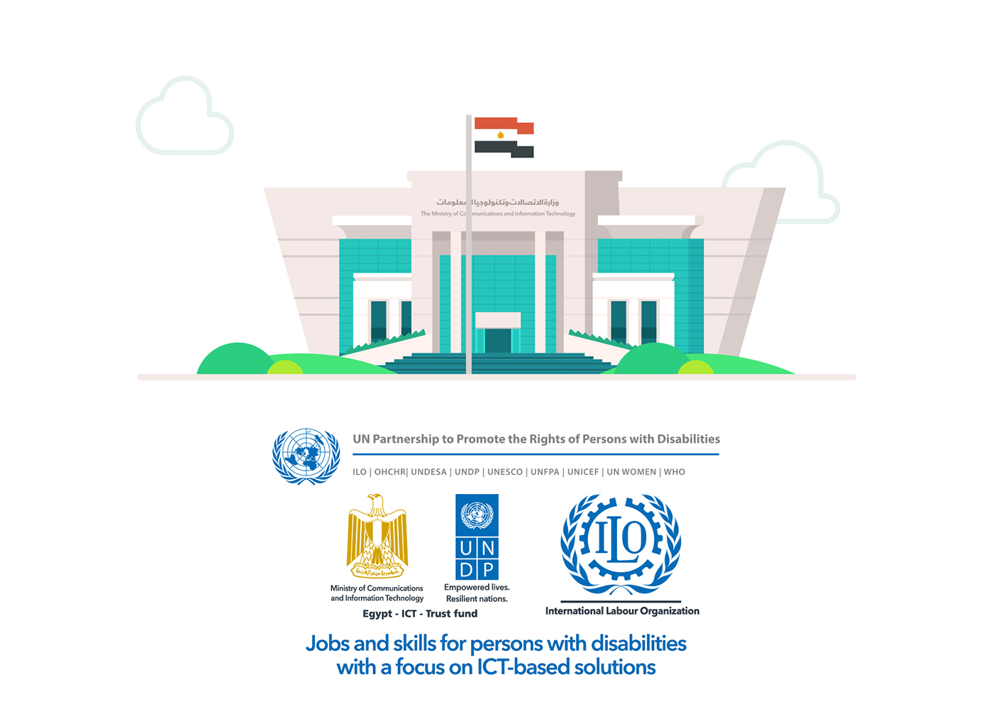 MCIT - Jobs and skills for PwD on Behance