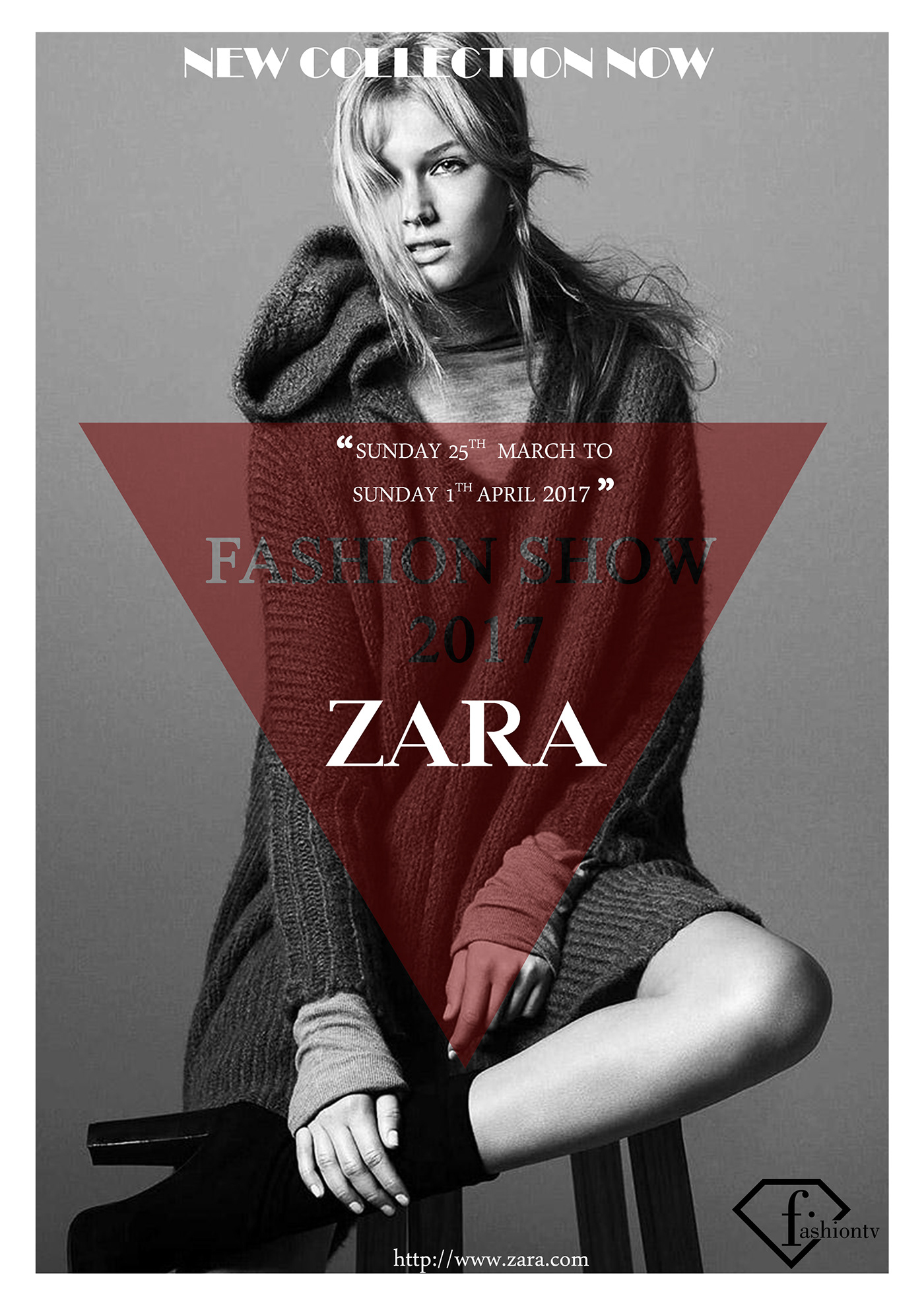 POSTER | ZARA's Fashion Show 2017 on Behance