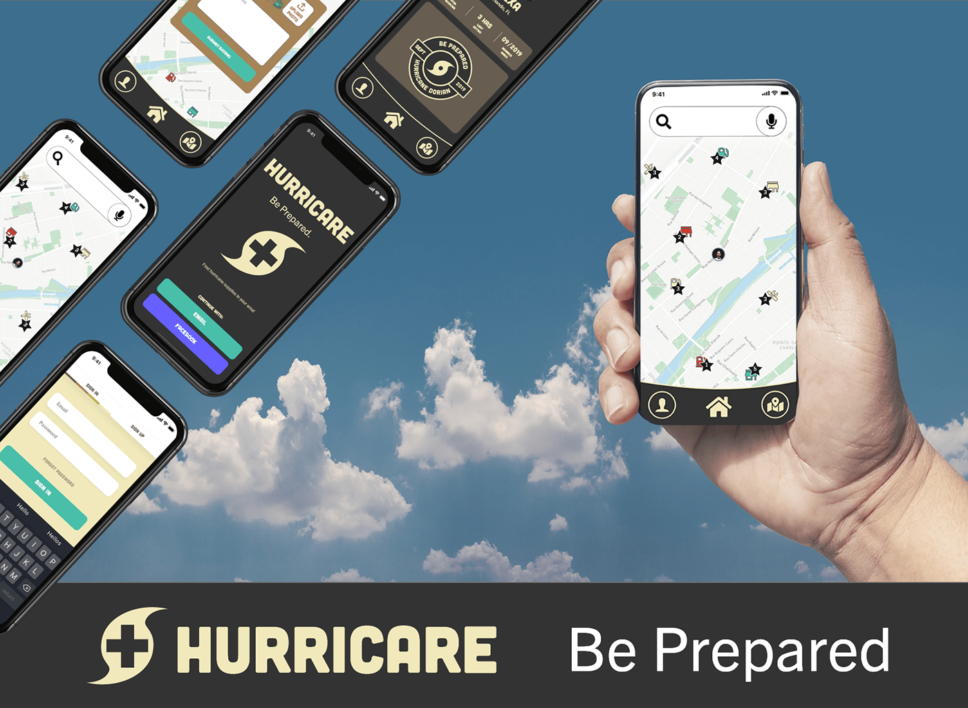 adobelive adobeawards xD ucf Clites hurricane app hurricare live CaseStudy Adobe Portfolio