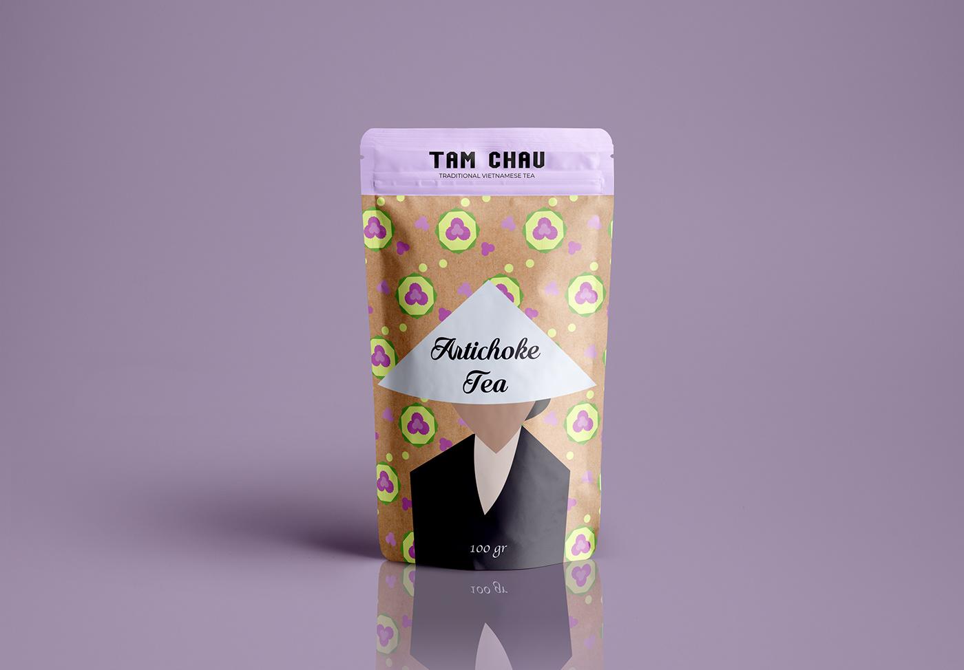 branding  Packaging packaging design ILLUSTRATION  tea brand tea brand packaging redesigning