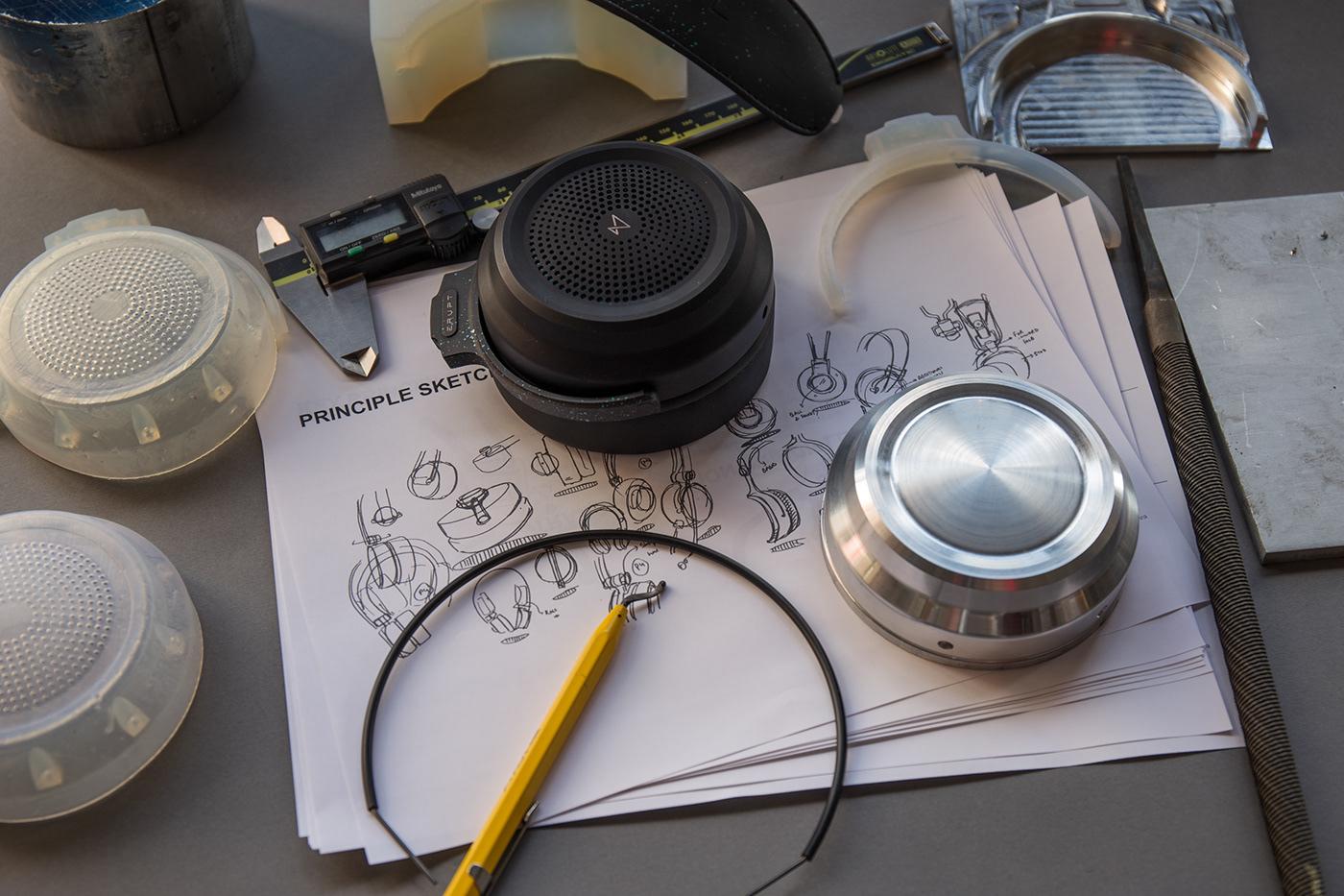 headphones Audio design Gaming Wearable PC manufacturing design process