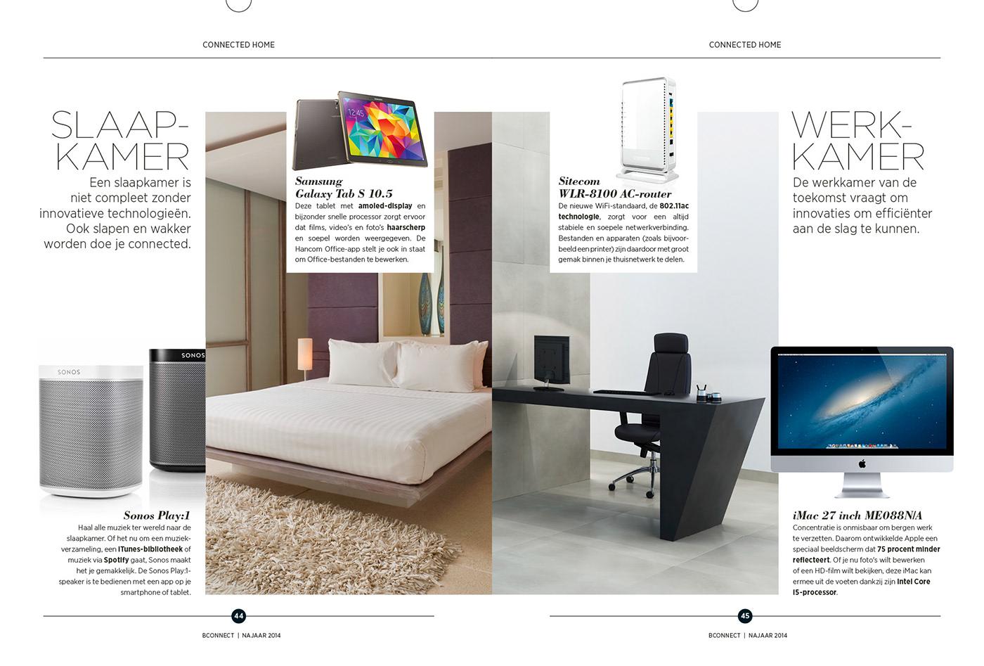 B-connect magazine on Behance