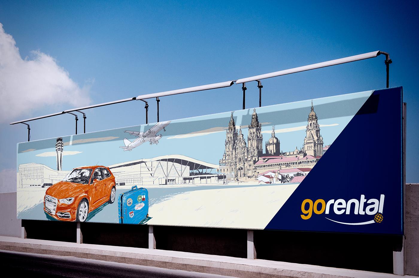 Car rental Galicia Camino de Santiago