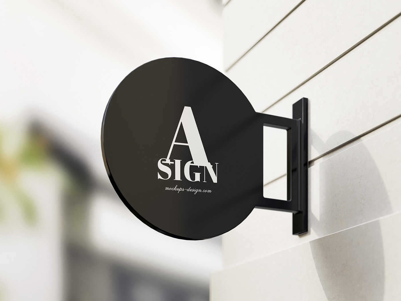Free sign mockup click above link to download