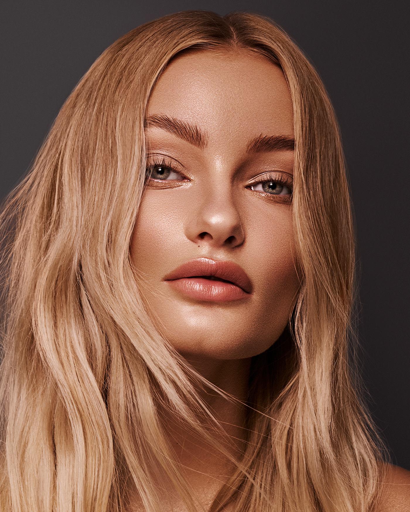 beauty beauty photography freckles London makeup retouching  skin studio